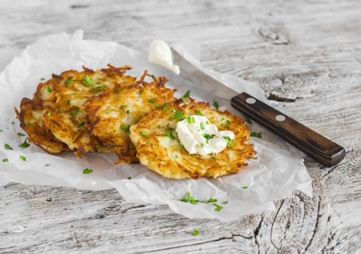 Easy Vegan Potato Latkes