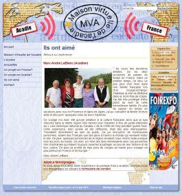 Site web institut universitaire