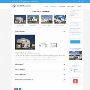création site web constructeur pau