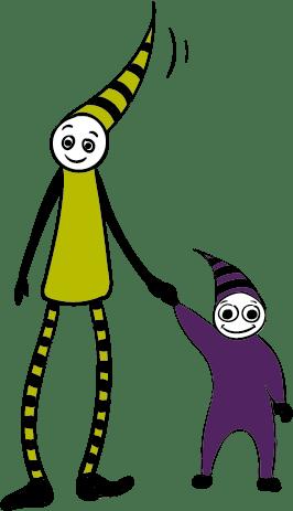 illustration réalisée pour l'école de Cirque de Tarbes
