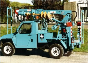 FOREUSE GRUE POUR VEHICULE LEGER TL9 FOREUSES GRUES
