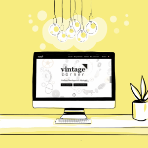 Création site vitrine vintage corner