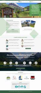 Refonte du site du camping Mialanne