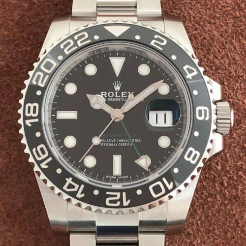 ロレックス GMTマスター2 116710LN ブラック(黒) 未使用 名古屋
