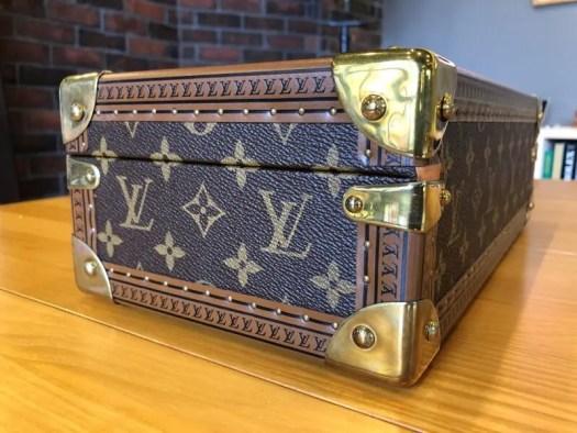 ルイヴィトン Louis Vuitton モノグラム コフレ 8 モントル M47641 時計ケース 未使用の画像5。