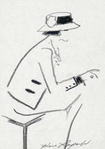 COCO CHANEL | Sketch: Karl Lagerfeld