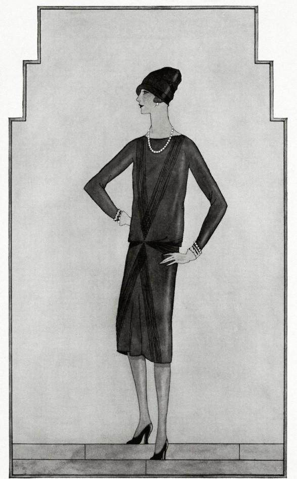 Chanel | American Vogue, 1926 |
