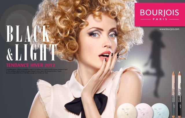 Bourjois Advertising | Model: Elena Shilnikova
