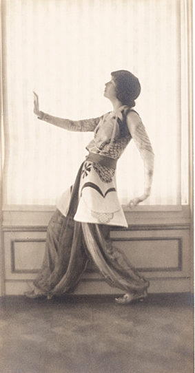 Gertrude Vanderbilt Whitney by Adolf de Meyer ca 1913