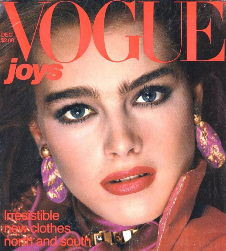 Photo: Richard Avedon, Vogue US, December 1980