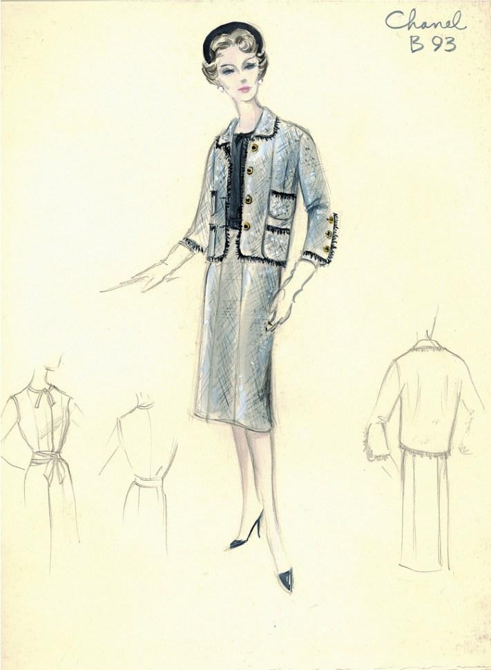 Chanel-suit-sketch