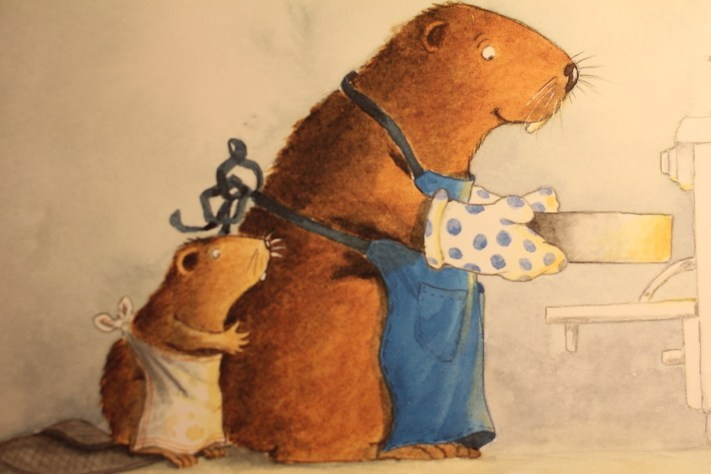Image from Beaver The Baker; My Photo