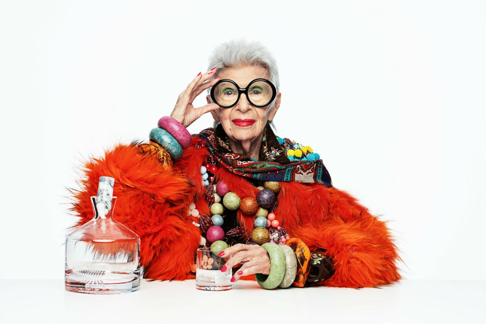 Iris Apfel x Nude Glassware