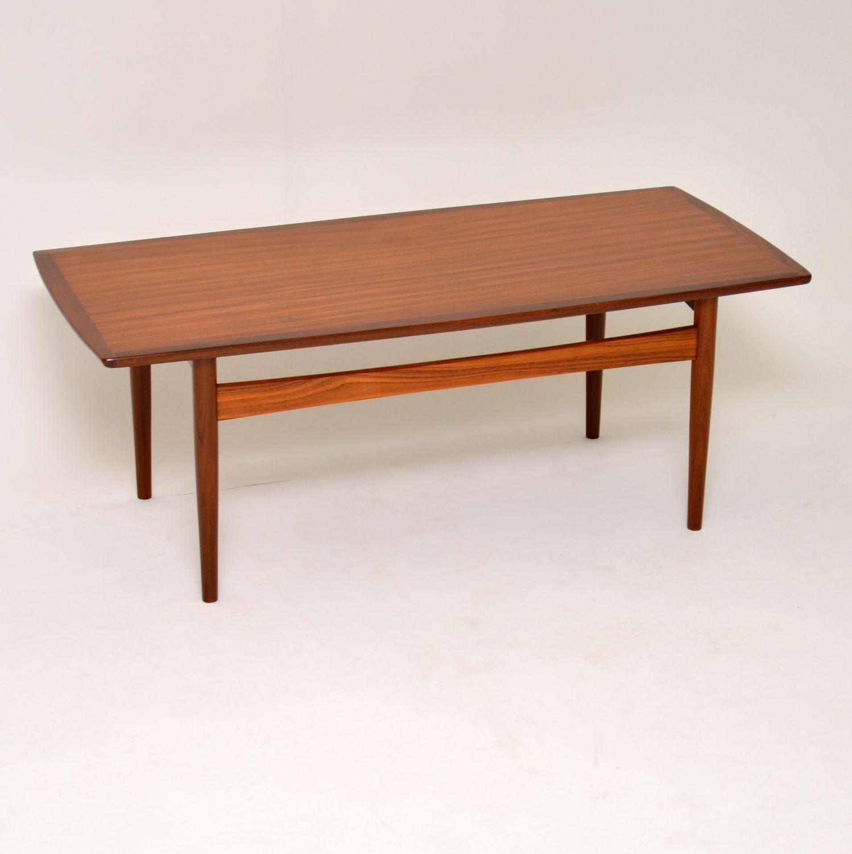 1960s Danish Teak Vintage Coffee Table At 1stdibs