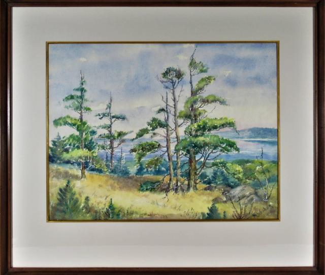 Maude Walling Wanker Figurative Art Oregon Landscape