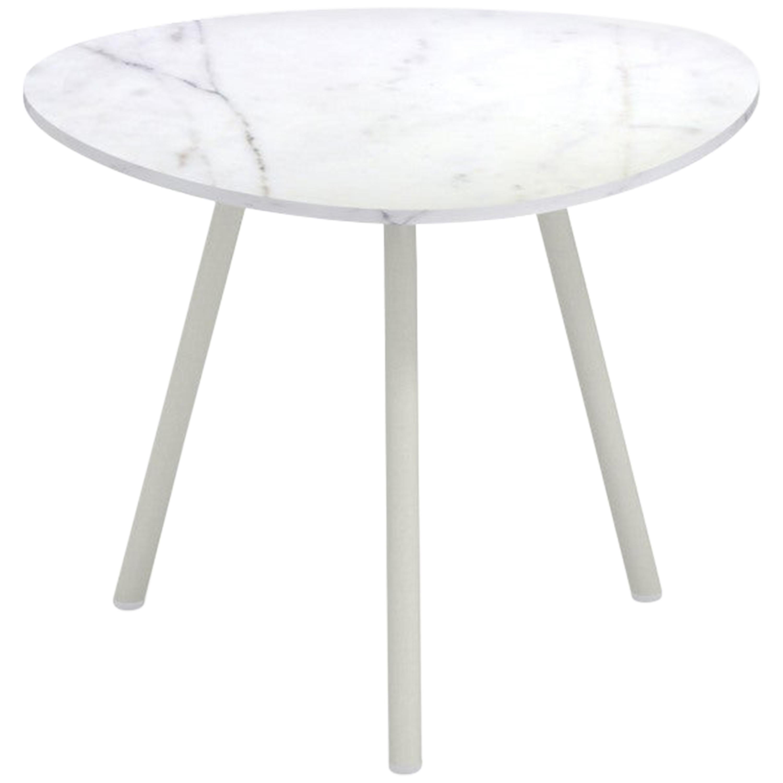 aluminium and porcelain stoneware emu terramare coffee table