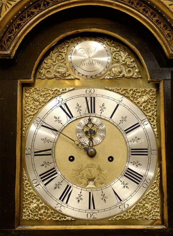 Chinoiserie Tallcase Clock By William Jackson Of London C