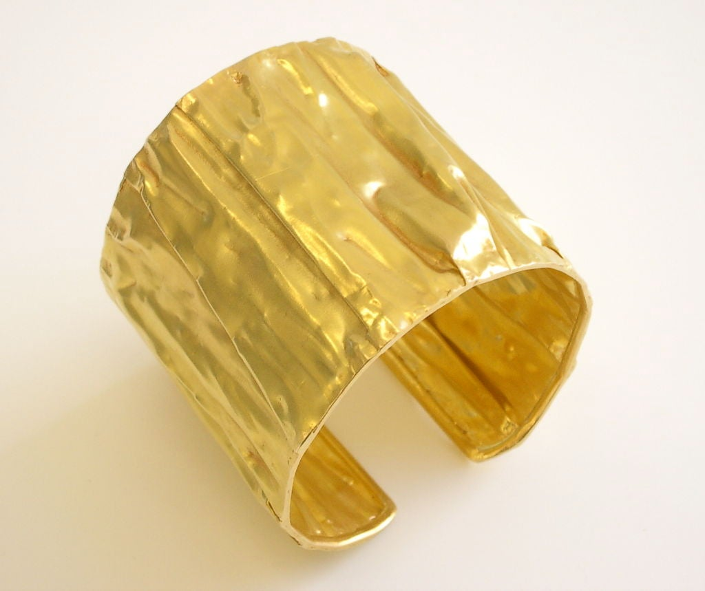 Gold Cuff Bracelet At 1stdibs