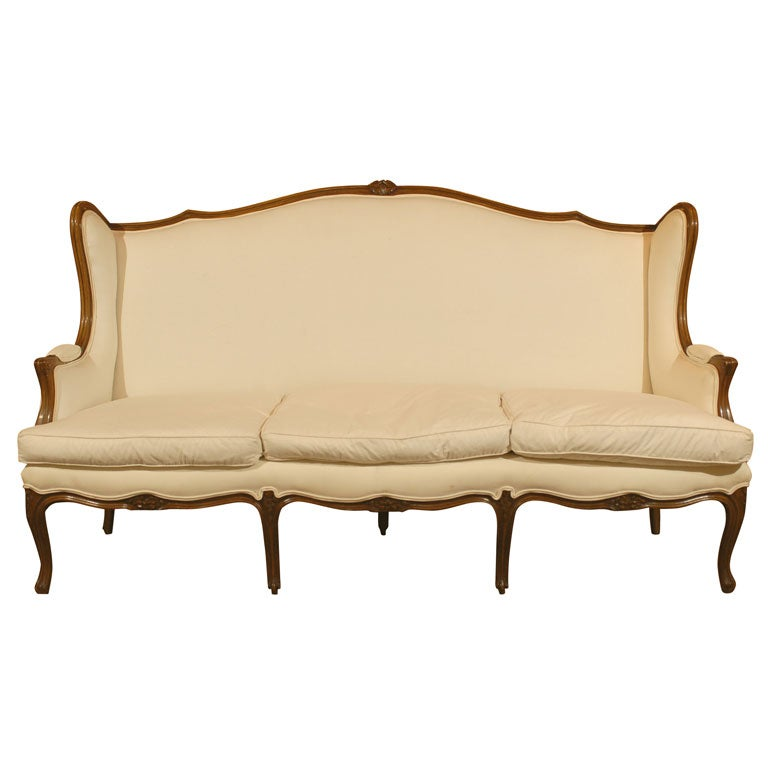 19th Century French Louis XV Style Sofa For Sale At 1stdibs