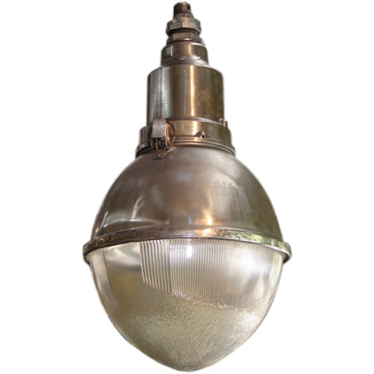 Large Industrial Pendant Light