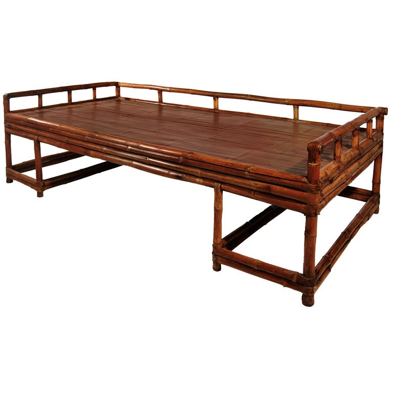 Bamboo Daybed For Sale At 1stdibs