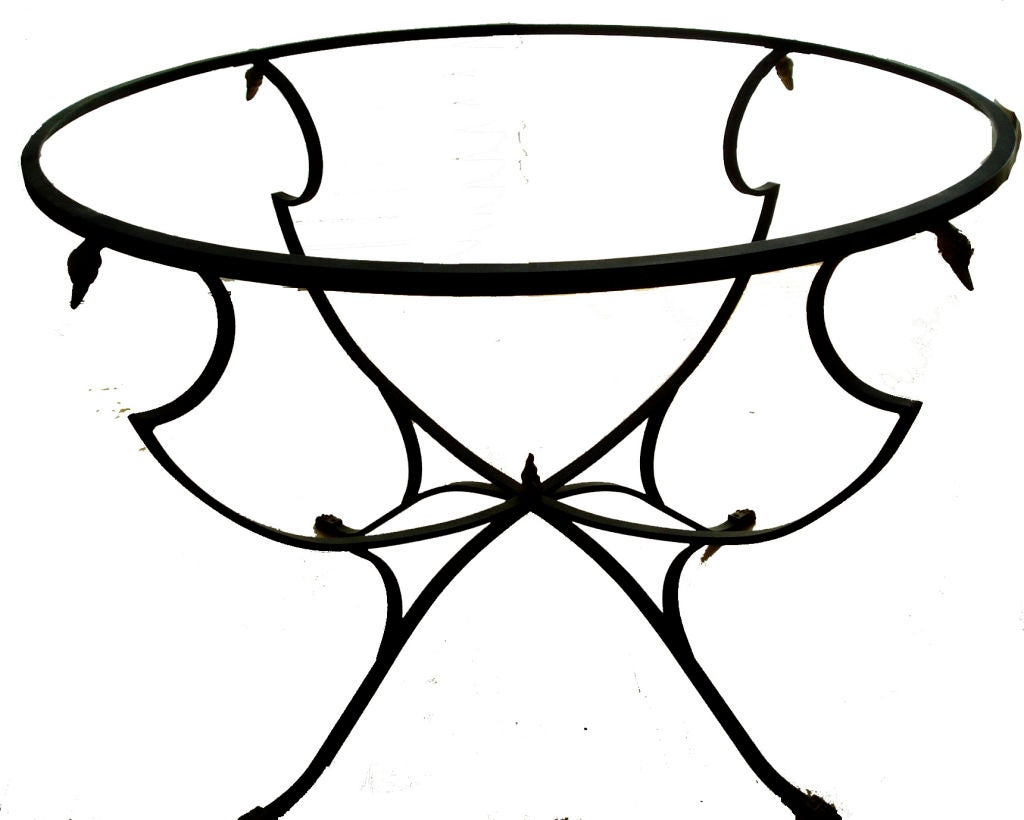 6 Swan Or Goose Head Lyre Back Chairs And Table At 1stdibs