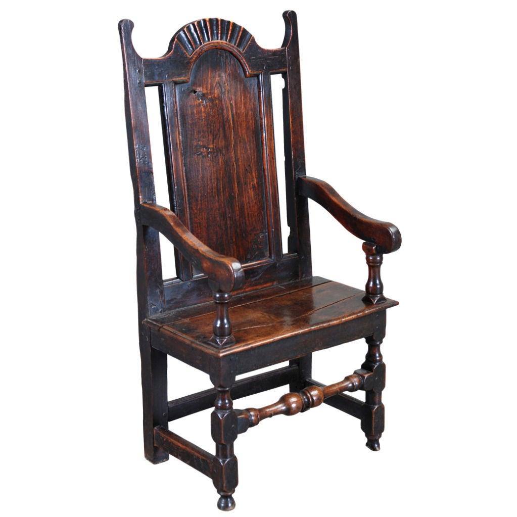17th Century Wainscot Chair At 1stdibs