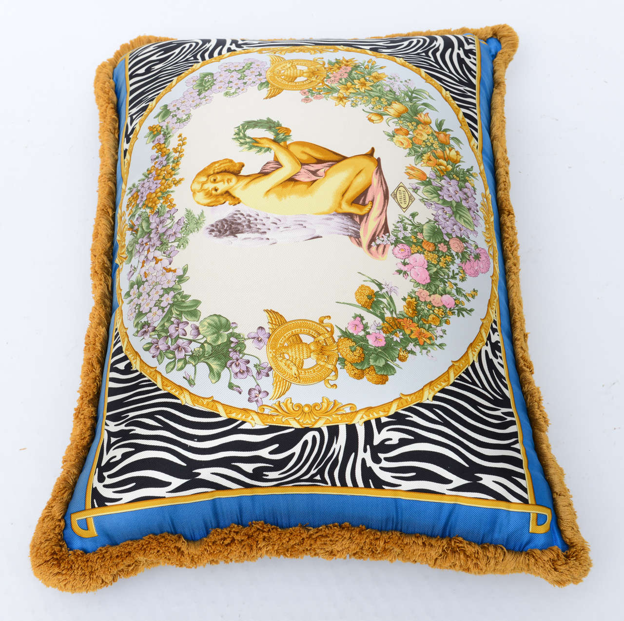 Atelier Versace Pillow At 1stdibs