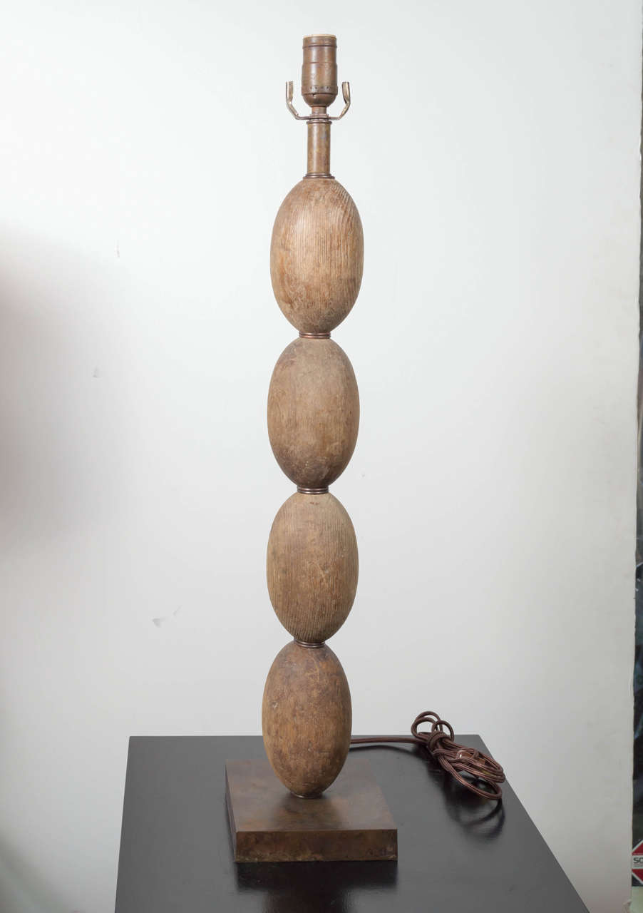 Antique Capodimonte Table Lamps