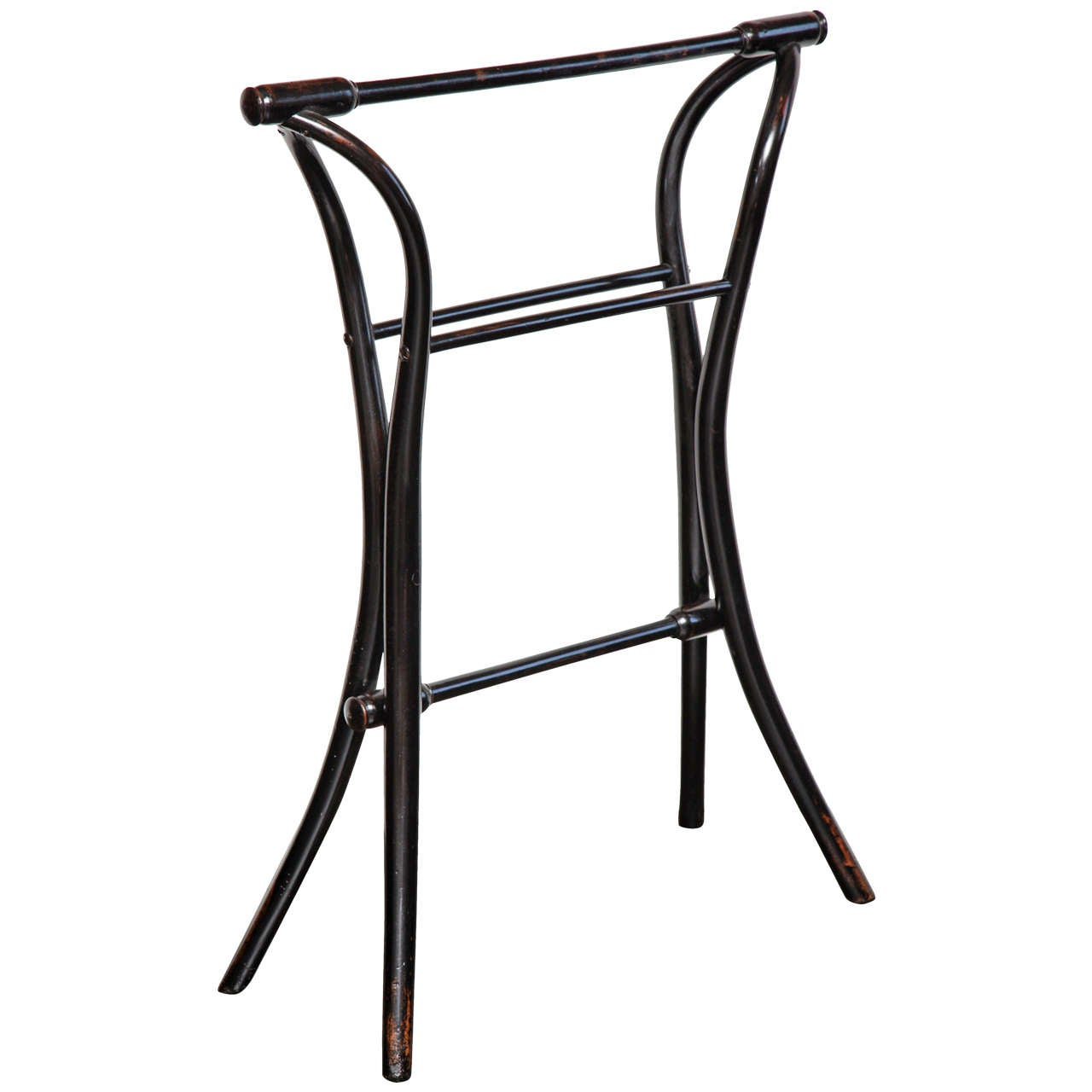 Early 20th Century Thonet Style Rack Towel Rack At 1stdibs
