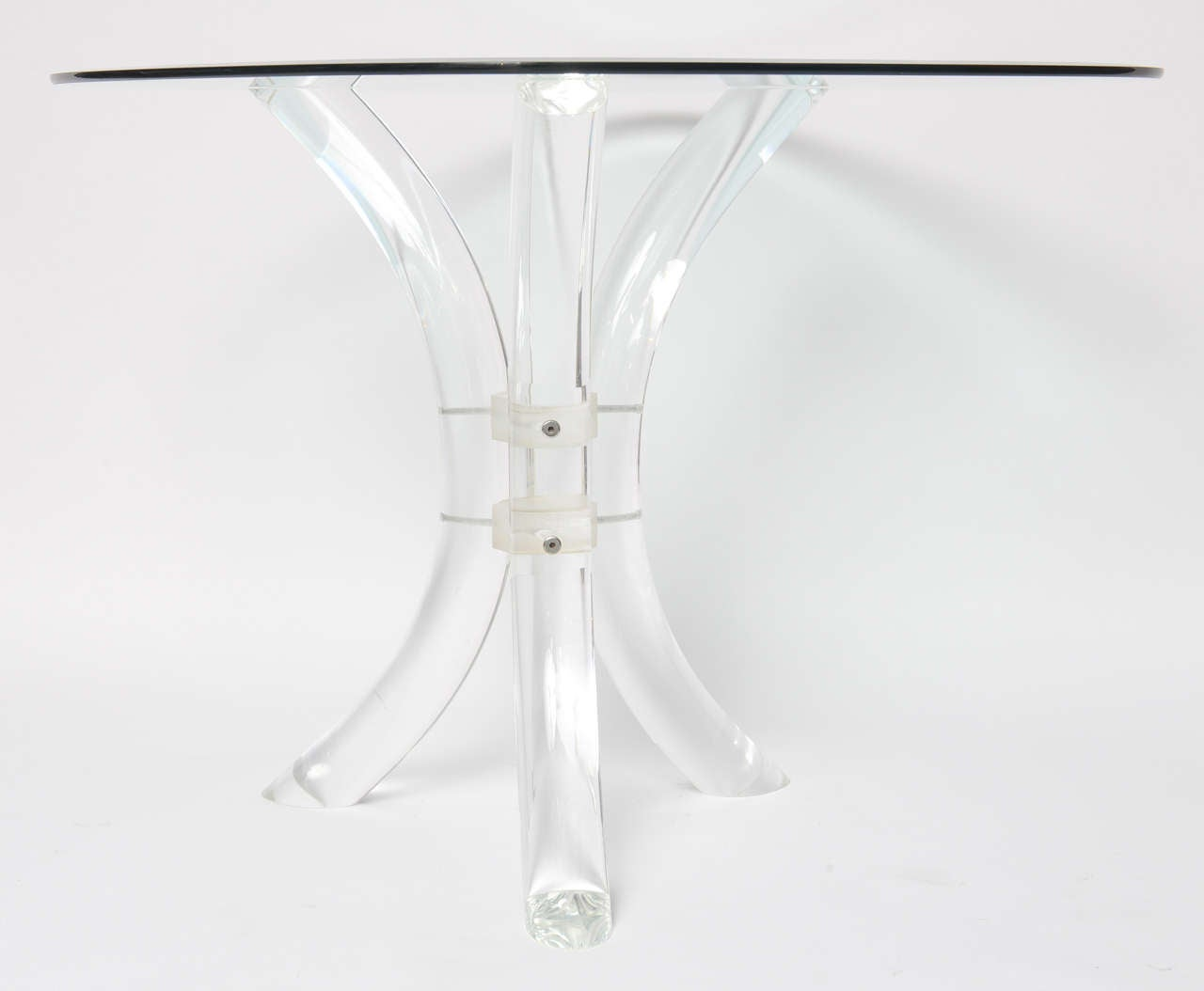 Simply Chic Lucite Table At 1stdibs