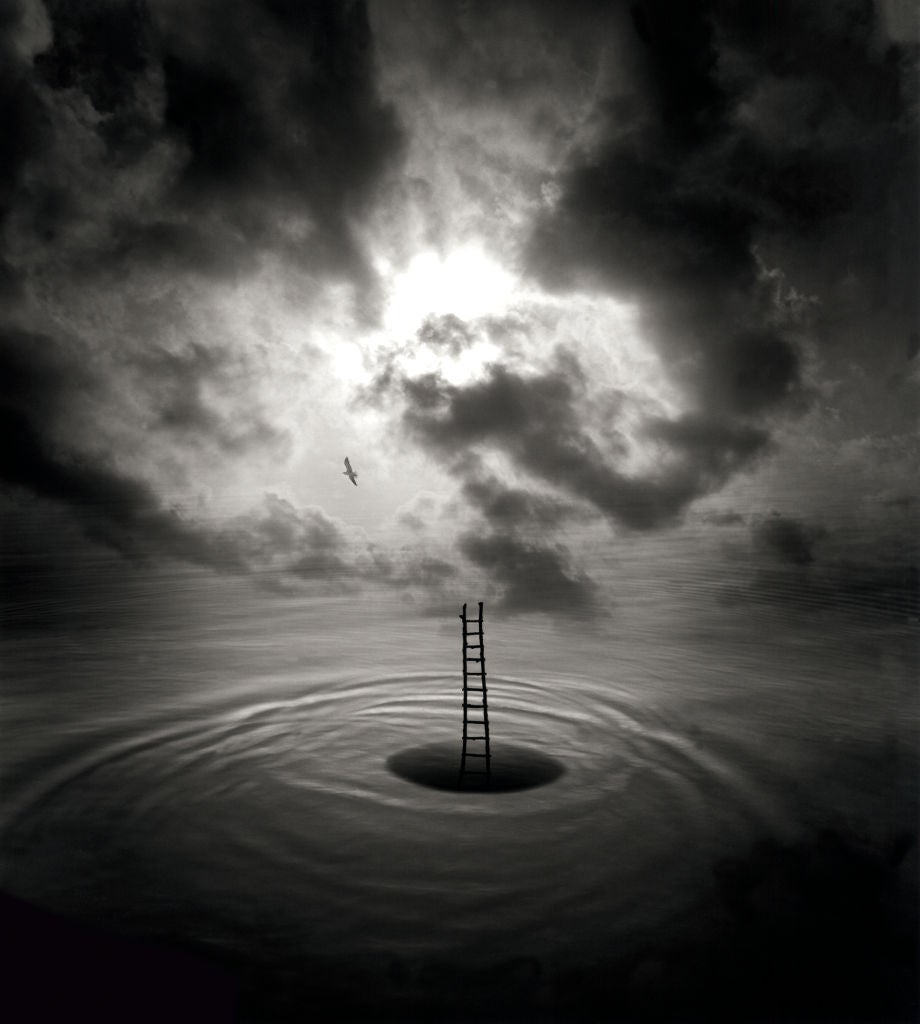 Jerry Uelsmann Meditation Mystery Photograph At 1stdibs