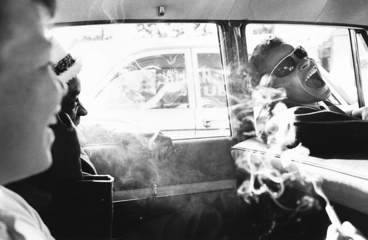 Charles Harbutt Boys Smoking In Car Reform School NY