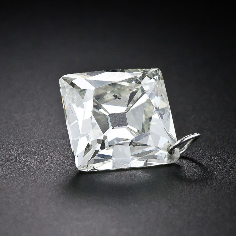 679 Carat Center French Cut Diamond Necklace At 1stdibs