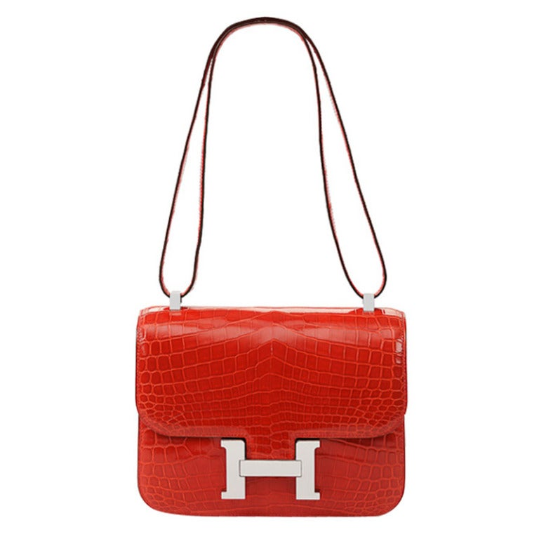 Perfect Valentine Gift Red Croc 24 Cm Constance At 1stdibs