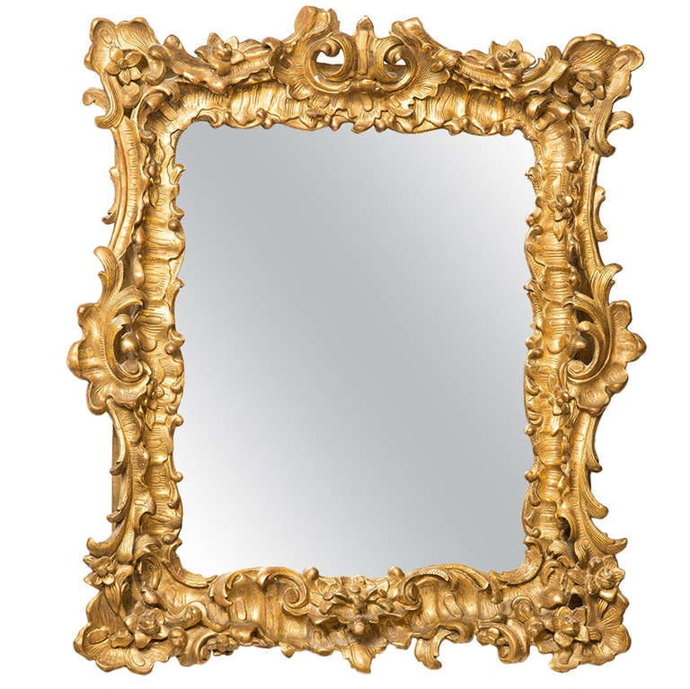 18th Century French Rococo MirrorFrame At 1stdibs