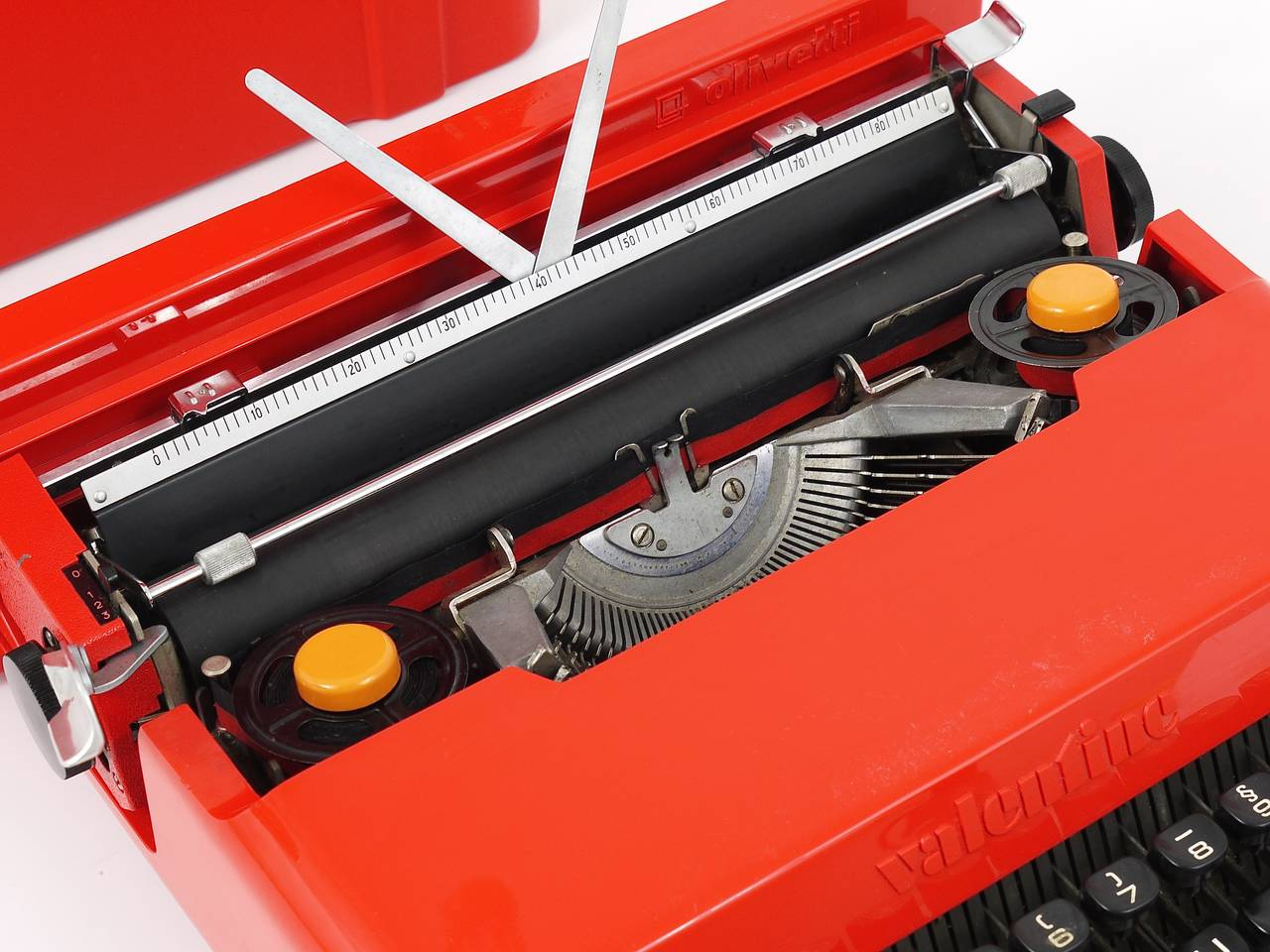Valentine Typewriter By Ettore Sottsass And Perry A King