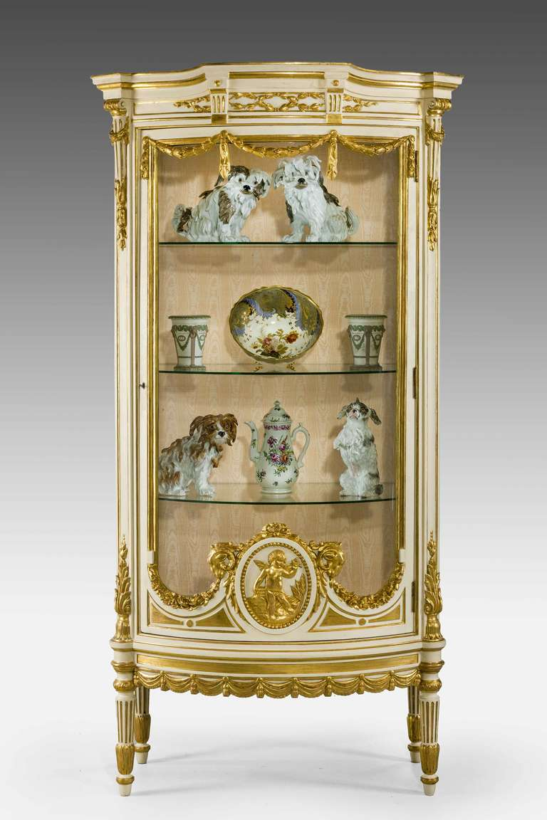 19th Century Belle Epoque China Cabinet For Sale At 1stdibs