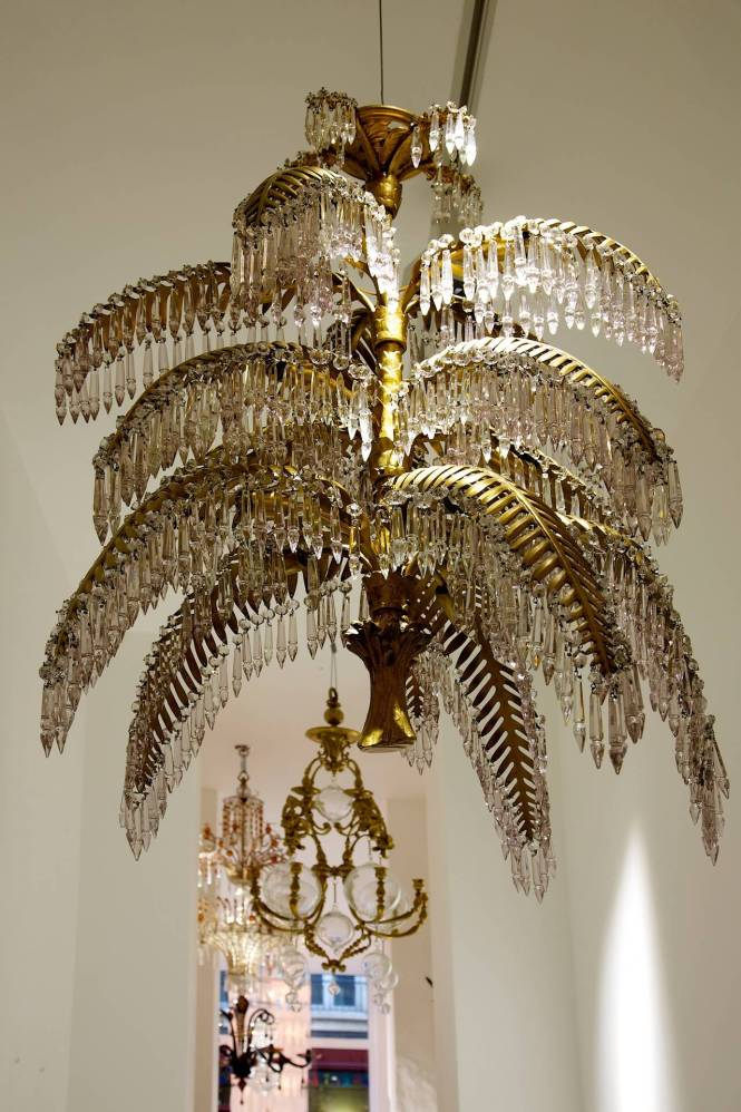 Joseph Hoffmann And Bakalowitz Palm Tree Chandelier 2