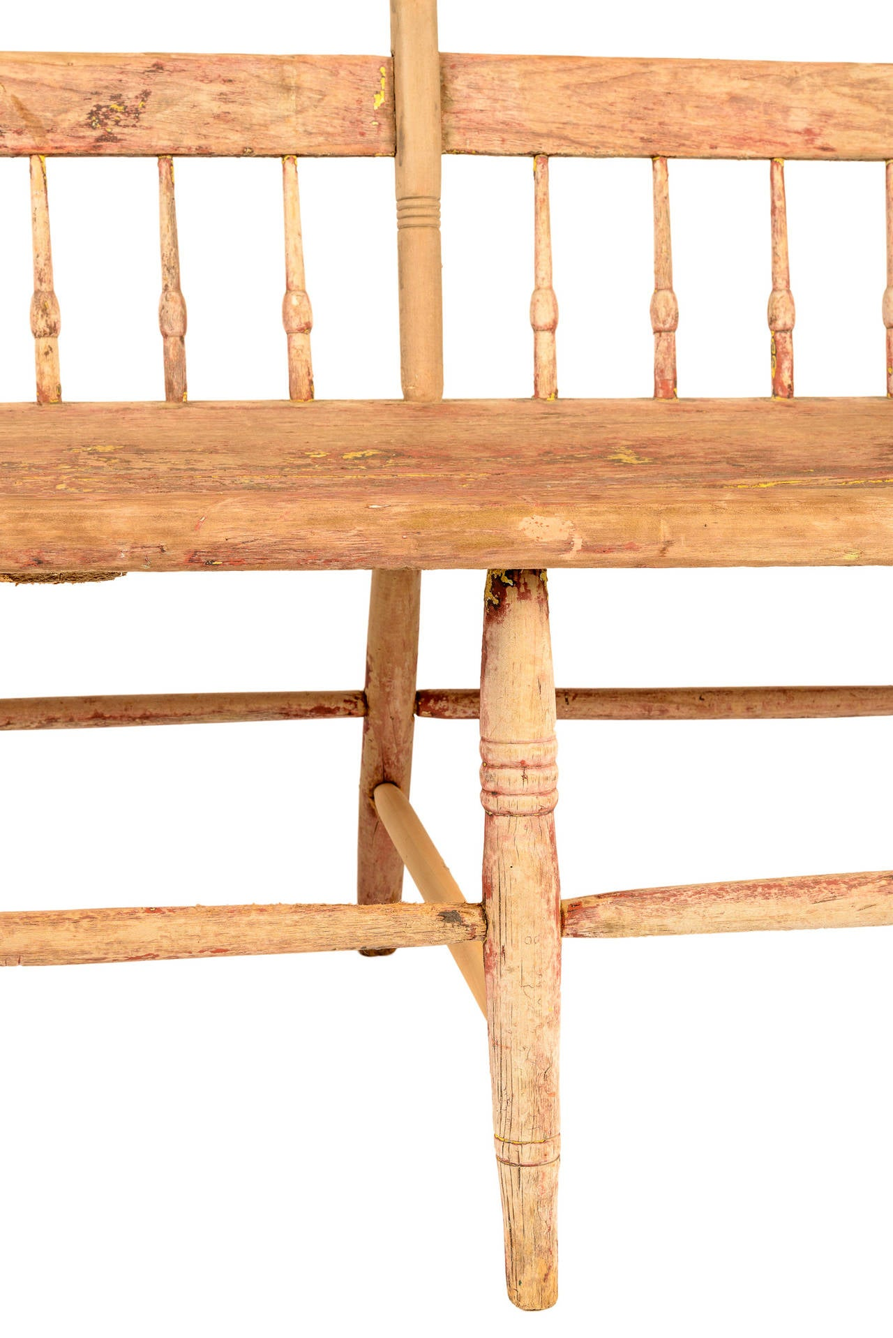 18th Century American Deacon S Bench At 1stdibs