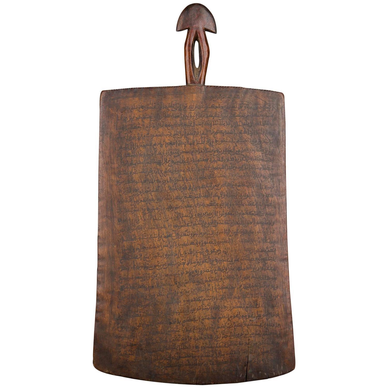 Late 19th Century Ethiopian Writing Board