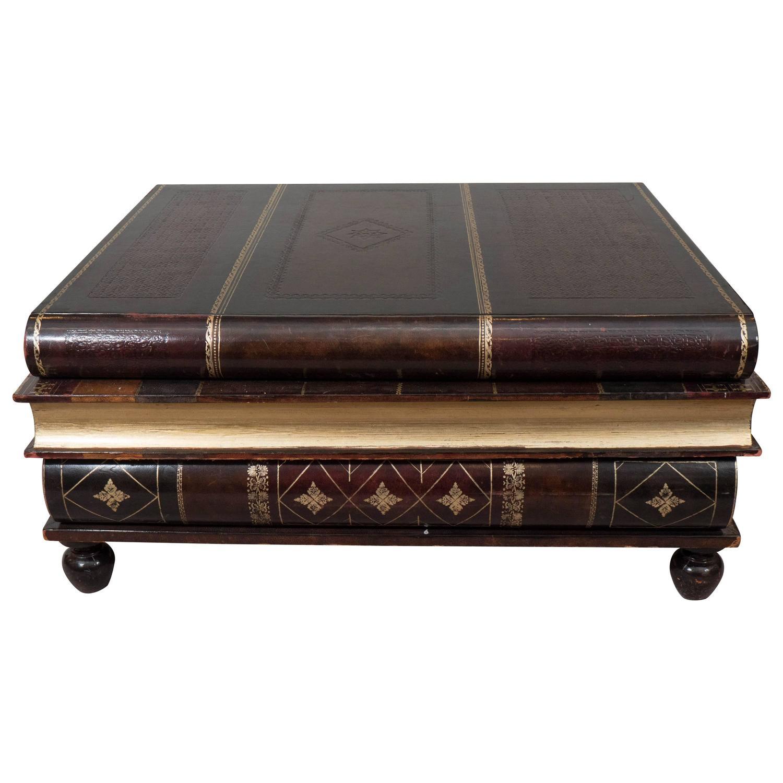 Maitland Smith Book Coffee Table