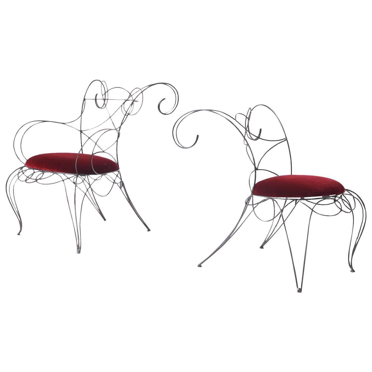 Andre Dubreuil Ram Chair For Sale At 1stdibs