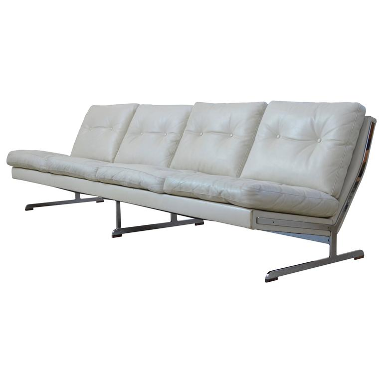 High Back Buttoned Sofa