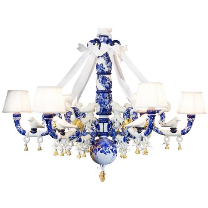 Delft Blue Chandelier By Marcel Wanders 1