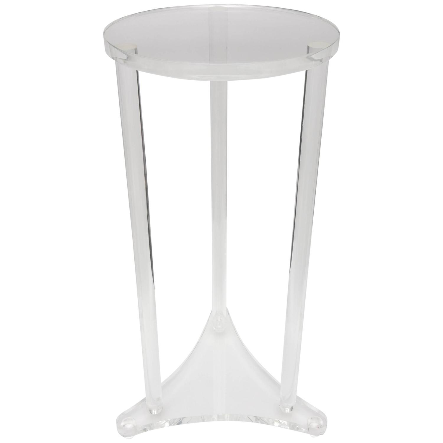 Lucite Art Sculpture Pedestal Stand For Sale At 1stdibs