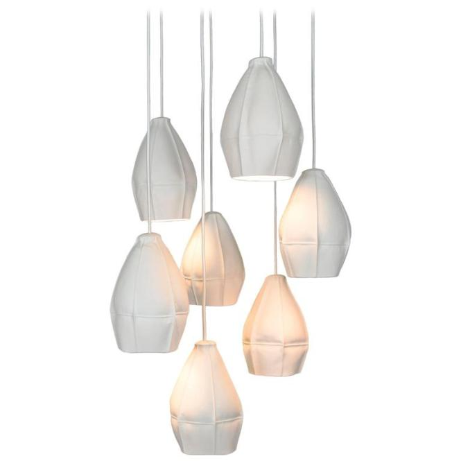 Kawa Pendant Cer From Souda Seven Porcelain Diffusers Ceramic Chandelier 1