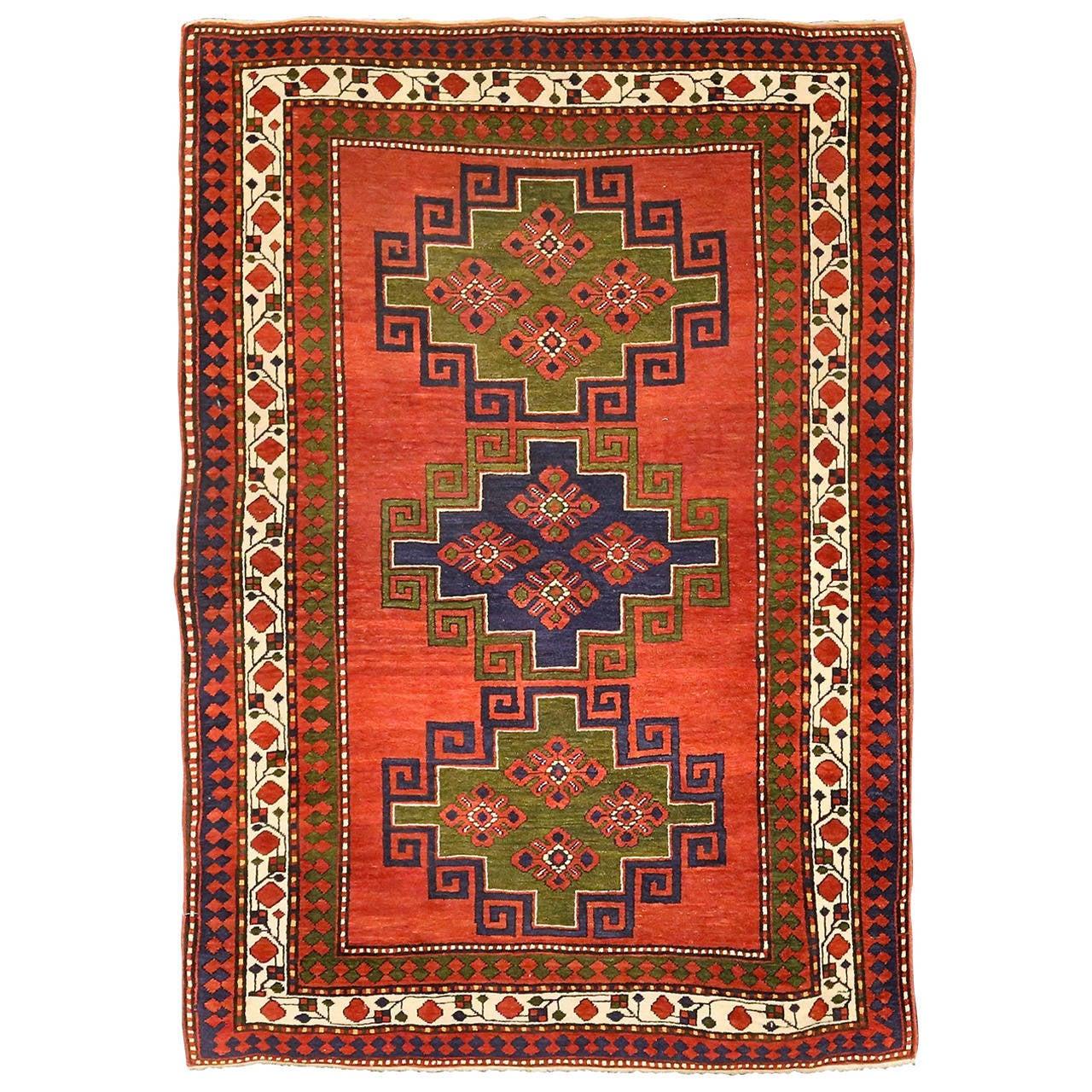 Antique Armenian Lambalo Kazak At 1stdibs