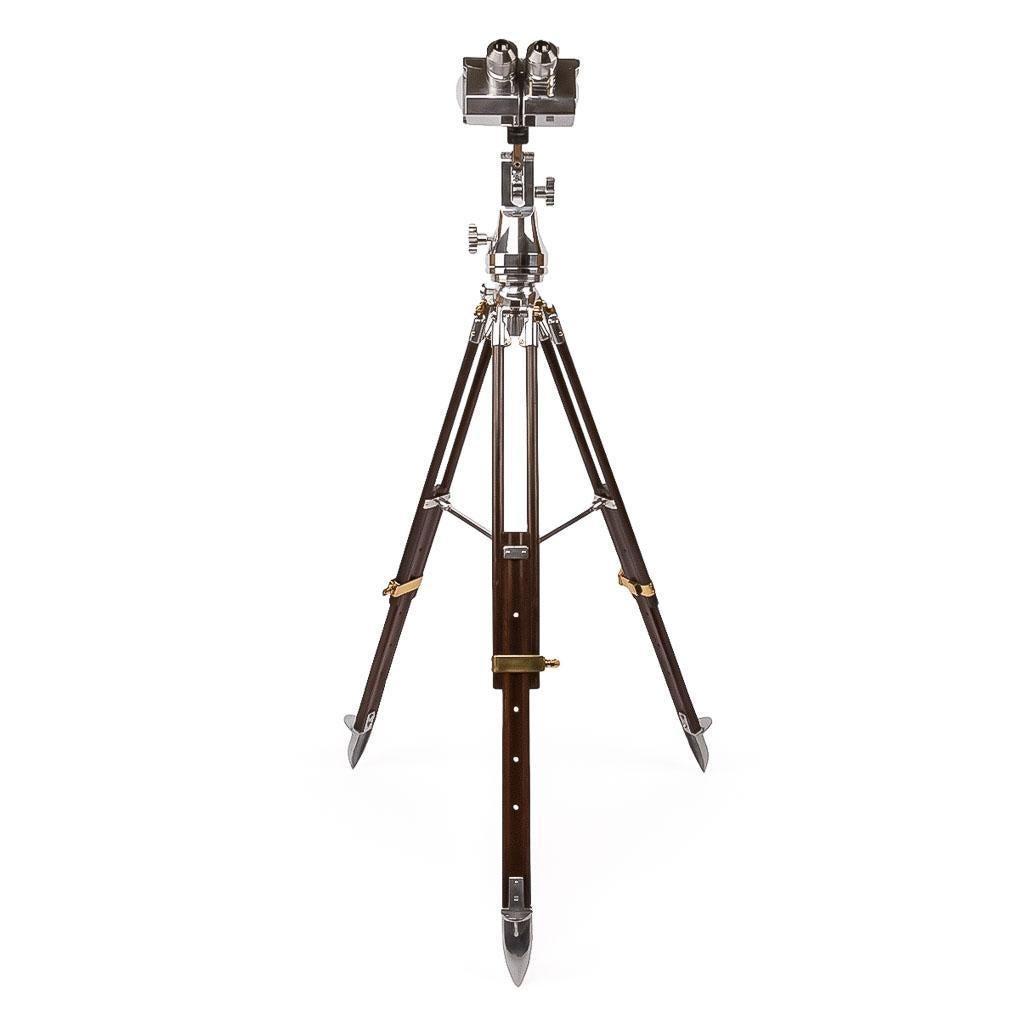 Stunning 20th Century Wwii German Shneider Flak Binoculars
