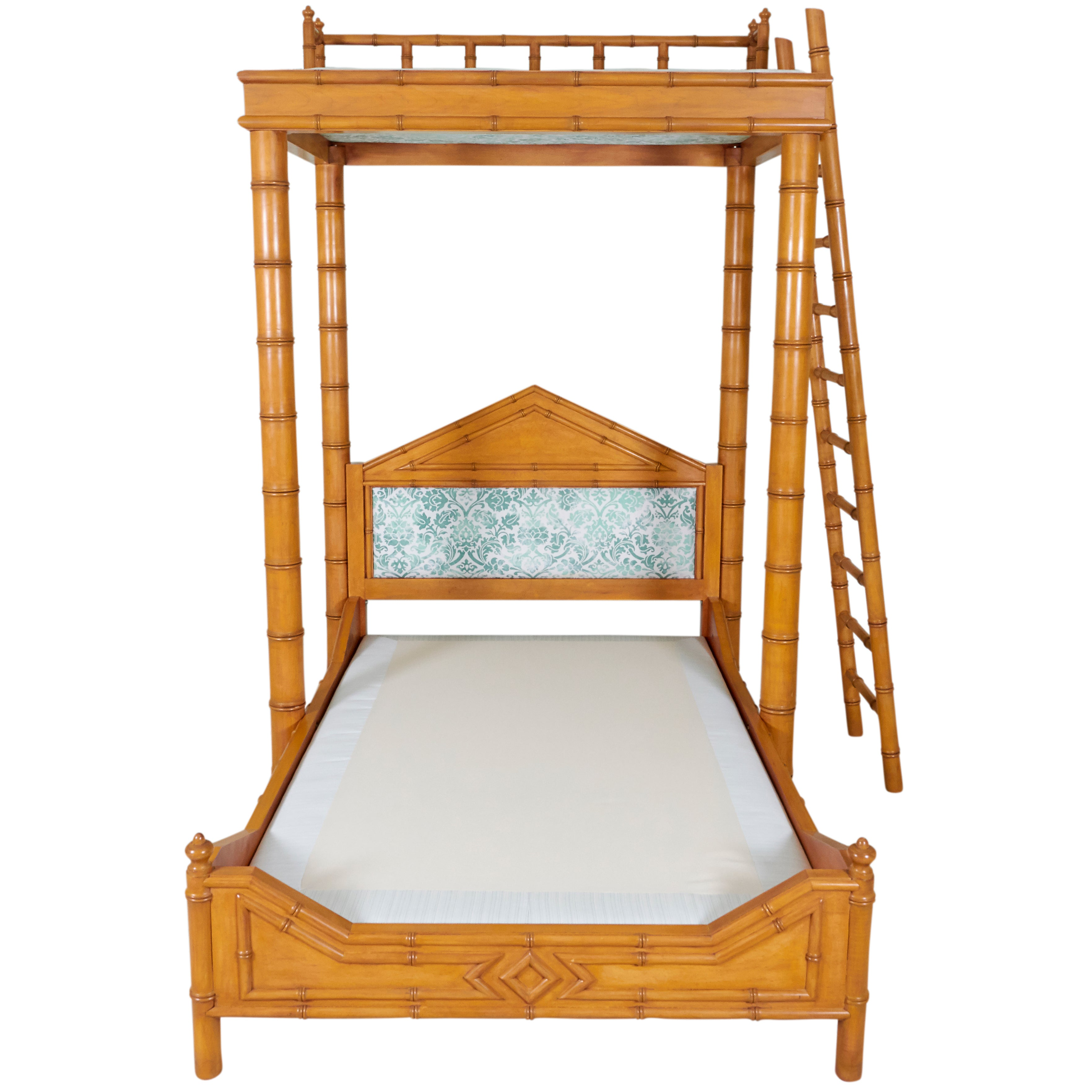 faux bamboo beds and bed frames 11
